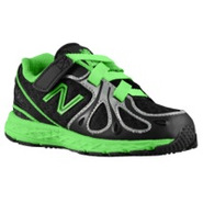 890 V3 - Boys Toddler - Black/Green