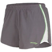 Run LUX II Short - Womens - Element/Nimble Green