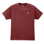 Jersey Short Sleeve T-Shirt - Mens - Maroon