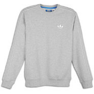 Crew Fleece - Mens - Medium Grey Heather