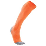Performance Compression Run Sock - Mens - Fluoresc