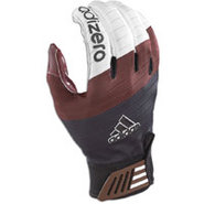 AdiZero Smoke Receiver Glove - Mens - Black/Maroon