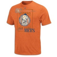 New York Mets Majestic Cooperstown Baseball T-Shir