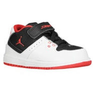1 Flight Mid - Boys Toddler - Black/True Red/White