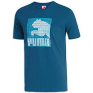 Box Cat S/S T-Shirt - Mens - Estate Blue