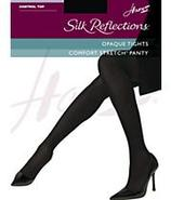 Silk Reflections Opaque Control Top Tights Panty H