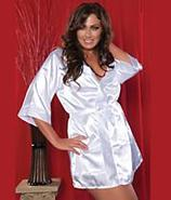 Seven 'til Midnight Flawless Short Robe Plus Size
