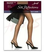 Silk Reflections Sandalfoot Non-Control Top Pantyh