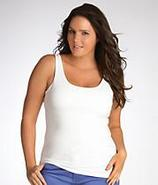 Joelle Cotton Shapewear Tank Top Plus Size