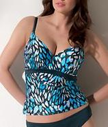 Palm Springs Tankini Underwire Swimwear Top