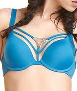Triangle Underwire Push-Up Bra