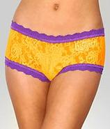 Louisiana State University Signature Lace Boyshort