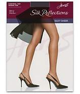Silk Reflections Sandalfoot Control Top Pantyhose 