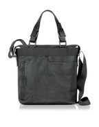 P'2000 - Black Leather Tote