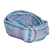 Nantucket Striped Silk Belt - D-Ring (For Women)