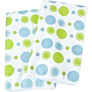 Clean House Microfiber Kitchen Towels - Set of 2