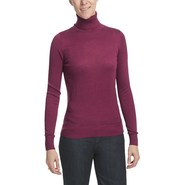 August Silk Warm Hand Turtleneck - Long Sleeve (Fo
