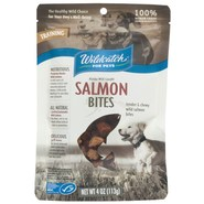 Wildcatch Wild Alaskan Salmon Bites Dog Treats - 4