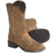 Dan Post Sidewinder Leather Cowboy Boots - Square