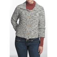 Nomadic Traders Crop Knit Jacket - Button Front (F