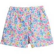 Donna Nicole Printed Boxer Shorts - Cotton Poplin