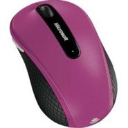 Microsoft Wireless Mobile Mouse 4000 (Pink)