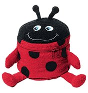 Ladybug Figural Bath Storage Bag