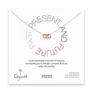 Past, Present, Future Necklace, 16 , Gold, 1 ea