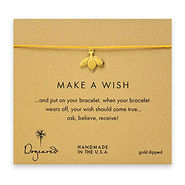 Make A Wish Bracelet Honey Bee, Gold/Mustard, 1 ea