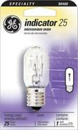 25 Watt T-8 Microwave Oven Light Bulb (90466)