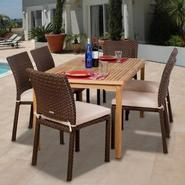 Luxemburg Collection Teak and Wicker Dining Set (X