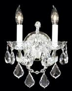 James R. Moder Maria Teresa Silver Wall Sconce (41