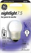 7.5  Watt Night Light Bulb (90703)