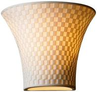 Limoges Collection Checkerboard 6 3/4  High Wall S