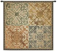 Wrought Iron Elegance 53  Wall Hanging Tapestry (J