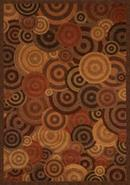 Quadra Overlapping Circles Area Rug (65833)
