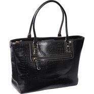 Exotic Julianna Laptop Tote Black - Sorella New Yo