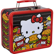 Hello Kitty Burger Lunchbox Multi Colored - Lounge