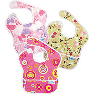 SuperBib 3 Pack Girl Assortment - Bumkins Diaper B