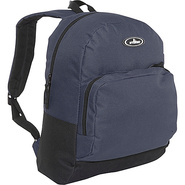 Classic Backpack with Organizer - Navy/Black