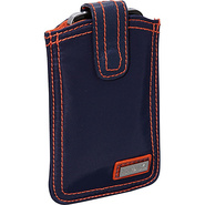 Nylon Phone Pod Navy/Orange - Hadaki Personal Elec