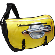 Transit 17  Laptop Messenger Bag-Yellow Taxi Black