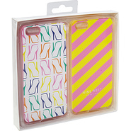Can't Stop Shopper iPhone 5 Cases 2pk Pink/Yellow