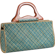 Pandanus Satchel Wave - Shoulder Bag