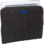 Crosby Nylon Zip Around Tablet Case Black/Cobalt -