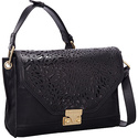 Laser Leopard Shoulder Black - Foley + Corinna Des