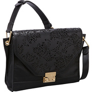 Laser Shoulder Bag Black - Foley + Corinna Designe
