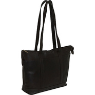 Double Strap Med Pocket Tote - Caf