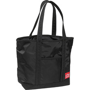 Windbreaker Tote Bag (MD) - Black