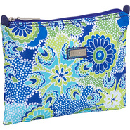 Small Zippered Carry All - Jazz Cobalt